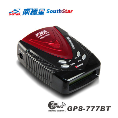 【凱騰】南極星 GPS-777BT 全頻衛星一體式測速器 (7.2折)