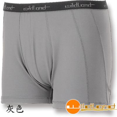 【WILDLAND荒野】男透氣排汗四角內褲-W1682 (8.8折)
