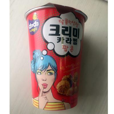 크리미카라멜팝콘 韓國進口 Darda 爆米花球(奶油焦糖風味) (8.7折)