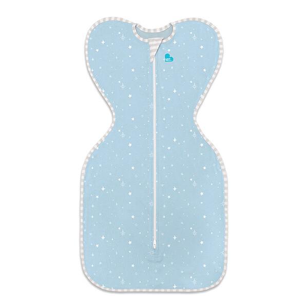 澳洲 專利蝶型包巾 stage1 輕薄款睡袋-星空藍 (s/m)佳兒園婦幼生活館