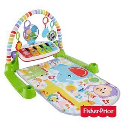 Fisher-Price 費雪 可愛動物鋼琴健身器【佳兒園婦幼生活館】 (5.7折)