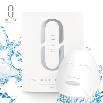 NU EGF超水感玻尿酸面膜 / 6片盒裝 (7折)