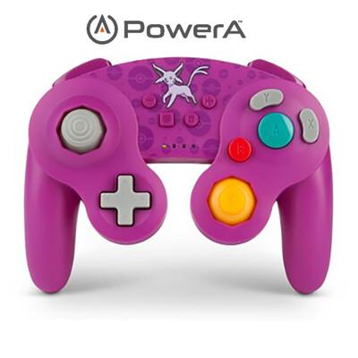 PowerA | Nintendo Switch 無線手把搖桿 GameCube太陽伊布限定款 (10折)