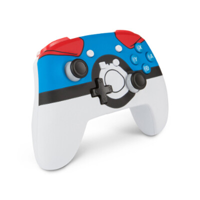 powera原廠貨 任天堂switch 強化無線手把 搖桿 寶可夢超級精靈球限定版 (10折)