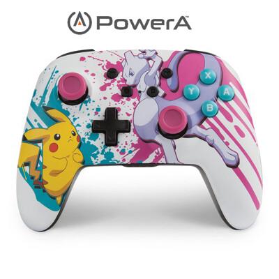 PowerA | Nintendo Switch 強化無線手把搖桿 寶可夢戰鬥限定版 (10折)