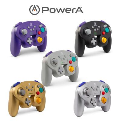 PowerA | Nintendo Switch無線手把搖桿 GameCube(黑、金、銀、灰、紫) (10折)