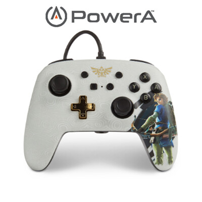 PowerA | Nintendo Switch 有線手把搖桿 薩爾達傳說林克限定款 (10折)