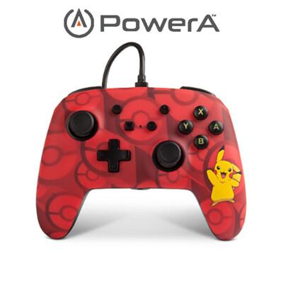 PowerA | Nintendo Switch 有線手把搖桿 神奇寶貝皮卡丘限定款 (10折)