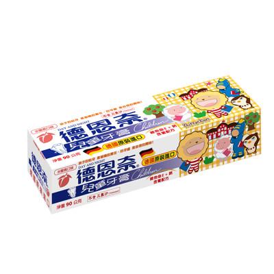 【德恩奈】兒童牙膏90g-水蜜桃 (7.5折)