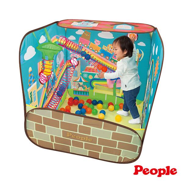 日本people-腦力體力激盪投球遊戲屋