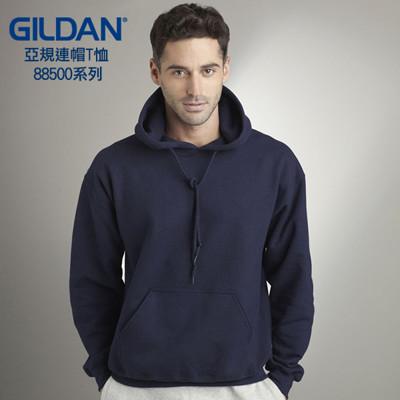 GILDAN 88500 亞規帽T(9色可選)  素T  連帽T 刷毛  長袖T 美國棉 吉爾登 (4.4折)