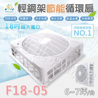 免運【三光批發商城】風匠 F18-05(110V) 輕鋼架風扇 18吋大風口 節能循環扇 (8.4折)