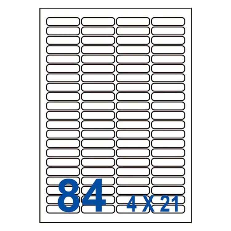 裕德unistar us4611 多功能白標84格(46x11.11mm)(100張/盒)