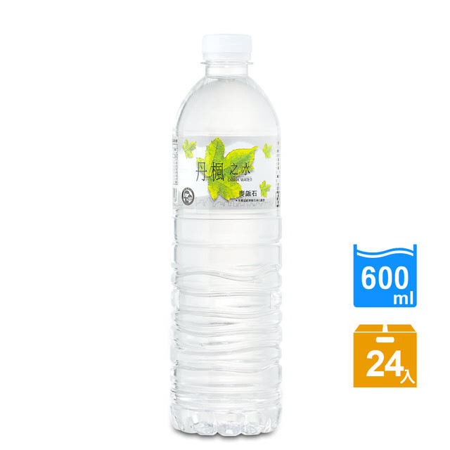 drink water丹楓之水麥飯石礦泉水600ml(24瓶/箱)