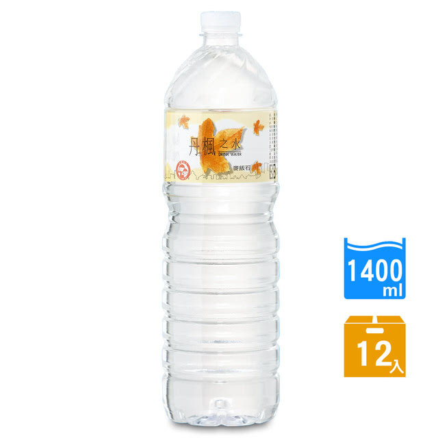drink water丹楓之水麥飯石礦泉水1400ml(12瓶/箱)