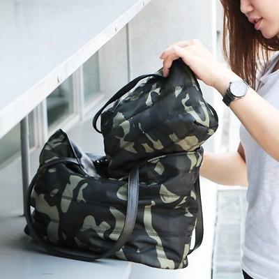 【Catsbag 】10170707-防水迷彩/點點雙包三用包/媽媽包/附小包 (6.5折)