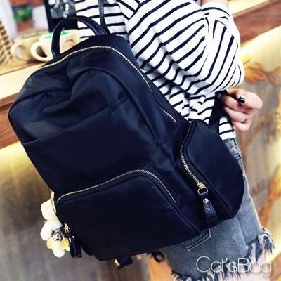 [ Catsbag ] 純調多口袋防水尼龍後背包 (3.5折)