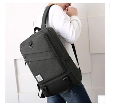 [ TPB ] 率性大容量雙拉鍊 15.6吋 筆電後背包 (4折)