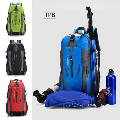 [ TPB ] 輕量減壓防潑水尼龍登山後背包 ( 14吋平版筆電可放) (0.7折)