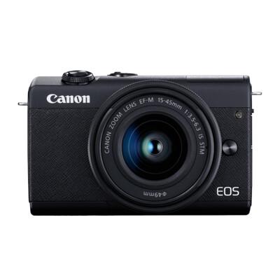 Canon M200 15-45mm KIT大全配 公司貨-黑 贈64G+包+反折腳架+電池充電組 (8.5折)