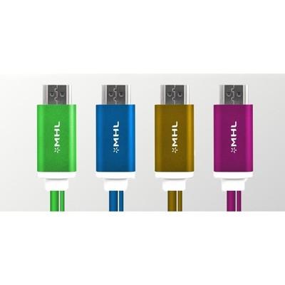 MHL 轉 HDMI Micro 11Pin USB MHL轉HDMI/2米 高清影音視頻轉接傳輸線 (10折)