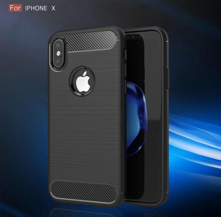 qind 拉絲矽膠套 iphone x/7/8 plus/i7+/i8+ 保護套