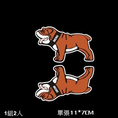 MINI 法鬥狗貼 貼紙 MINI COOPER S ONE COUNTRYMAN CLUBMAN (5.5折)
