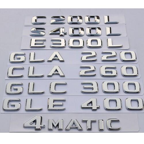 benz 後車標 後尾標 amg 4matic gla glc gle gls cla a c e