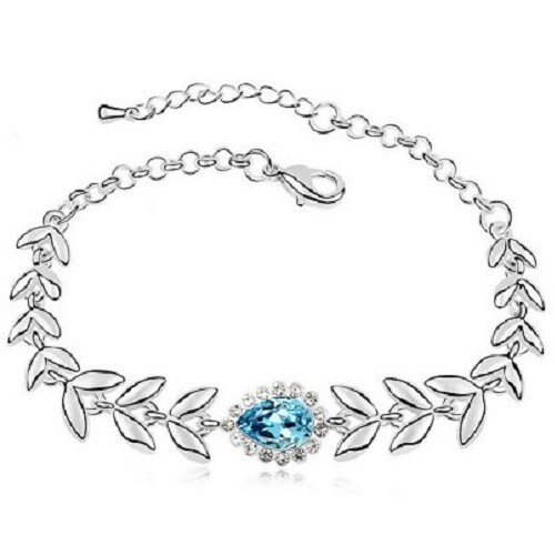 葉之符手鏈  奧地利水晶 手鍊 手環  生日禮物