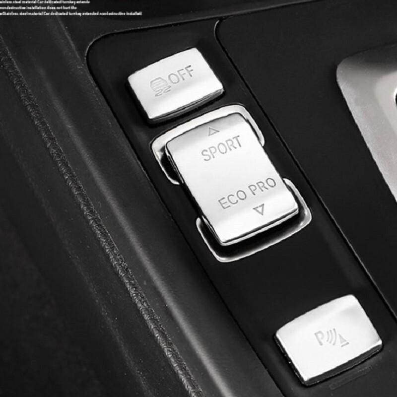 bmw 3系 排檔按鍵貼 鍍鉻 318i f30 f80 f31 320i 328i gt f34