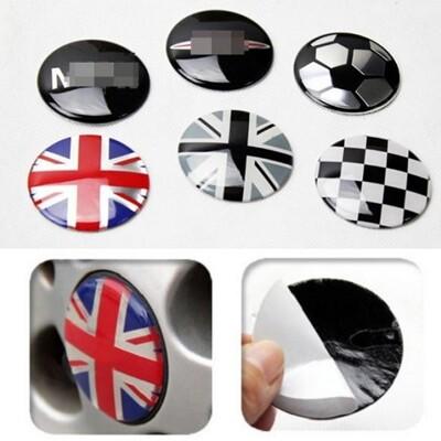 MINI英國國旗 鋁圈輪胎蓋 中心蓋 輪圈蓋 輪胎貼 R60 R53 R56 R58 R55 R59 (8.6折)
