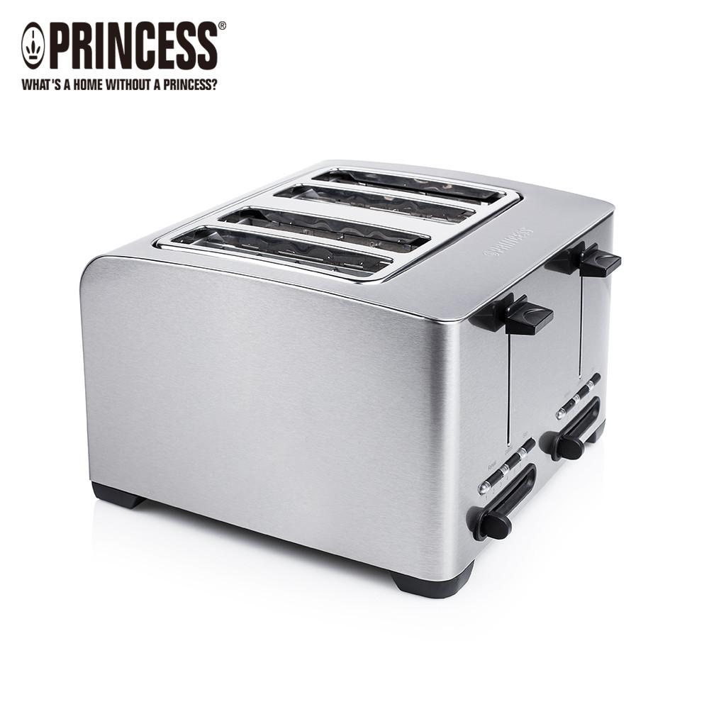 荷蘭公主 princess不鏽鋼四片烤麵包機 142397