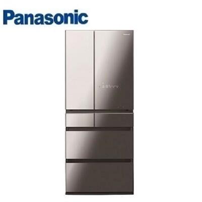 【Panasonic】國際牌  日本原裝 650公升 六門變頻冰箱NR-F655WX-X1(鑽石黑) (9.8折)