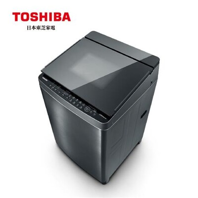 toshiba東芝 17公斤鍍膜奈米泡泡變頻洗衣機 aw-dmuh17wag (6.4折)