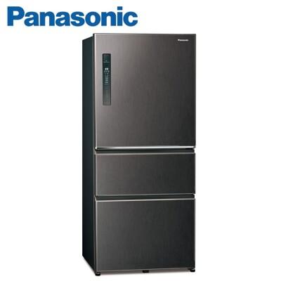 【Panasonic】國際牌  變頻一級 610公升 鋼板三門冰箱 NR-C610HV-V(絲紋黑) (9.3折)
