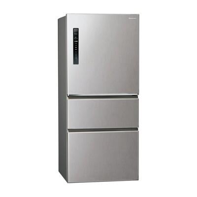 【Panasonic】國際牌  變頻一級 610公升 鋼板三門冰箱 NR-C610HV-L(絲紋灰) (9.3折)