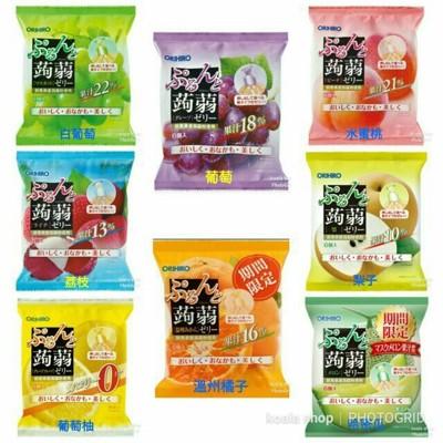 日本 ORIHIRO 新食感 蒟蒻擠壓式果汁 果凍 低卡路里 (單口味,一包六入) (6.9折)