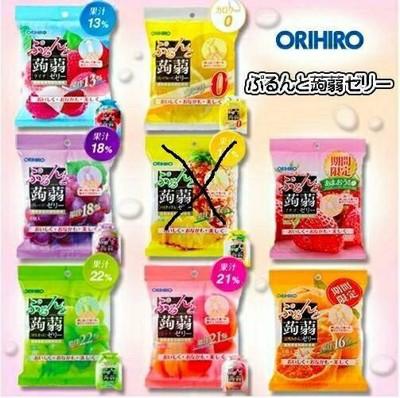 日本 ORIHIRO 新食感 蒟蒻擠壓式果汁 果凍 低卡路里 (單口味,一包六入) (7.2折)