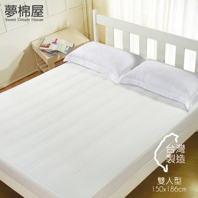 機能抗污 床包式保潔墊 (雙人 / 單人 / 加大 任選);夢棉屋 (4.1折)