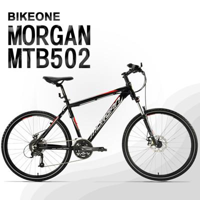 BIKEONE MTB502 臺灣製造26吋鋁合金登山車山地車 27速AECRA大全套 可鎖死前叉 (4.5折)