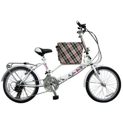 BIKEDNA JY21 PET 20吋21速 SHIMANO進階版多功能寵物車/折疊車 摺疊淑女車 (8.1折)