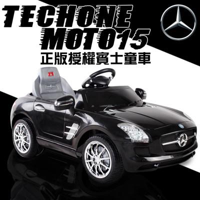 TECHONE MOTO15 仿真賓士跑車 正版BENZ/原廠授權 四通遙控童車/汽車 可外接MP3 (7.8折)