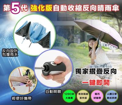 自動開收反向折疊晴雨傘 (2.9折)