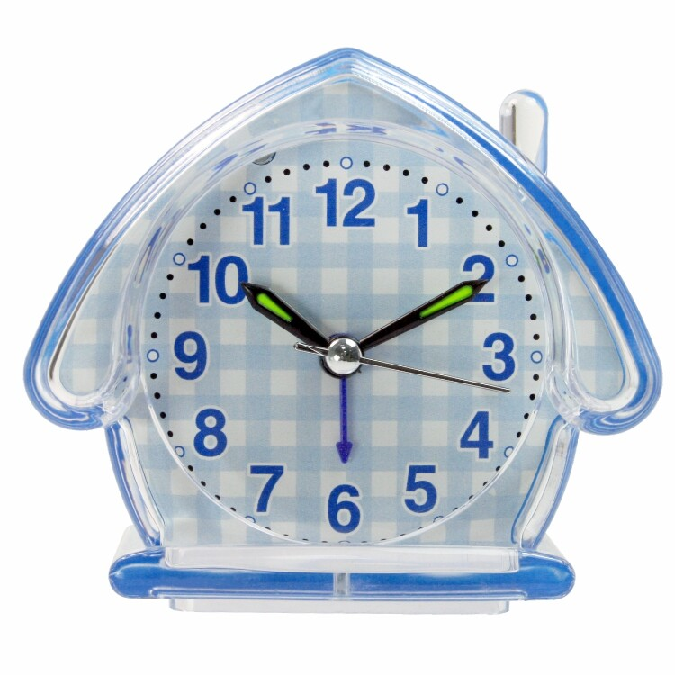 kinyo房屋造型鬧鐘