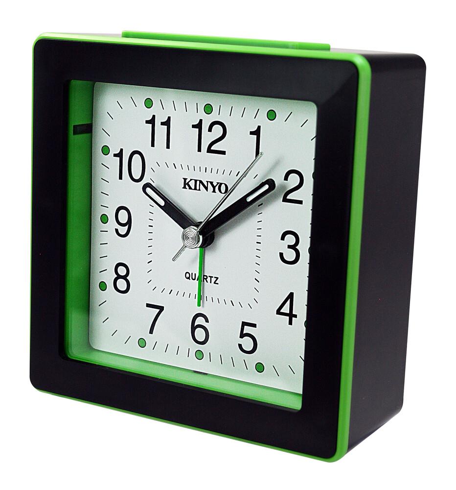 kinyo時尚方形鬧鐘