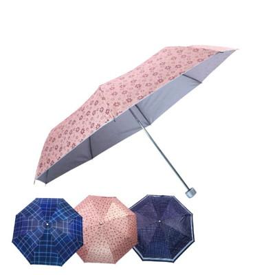 21吋三折uv銀膠輕量晴雨傘 (7折)