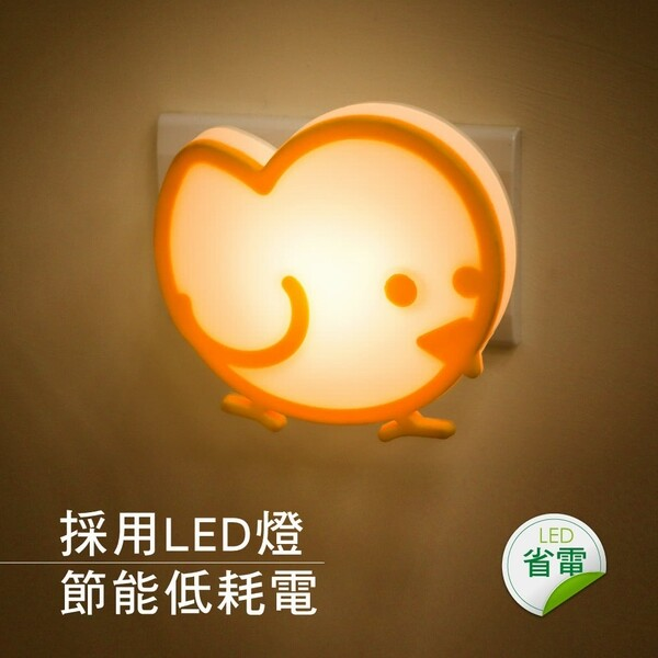 kinyo可愛小鳥造型led小夜燈