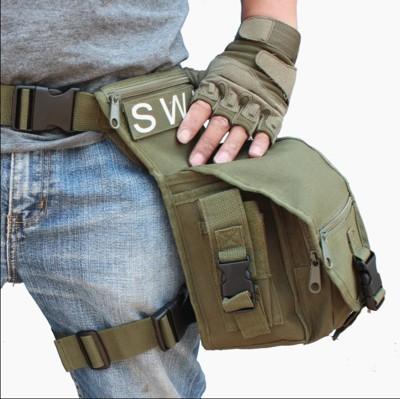 多功能戶外運動戰術腰包腿包側背包 (2.8折)