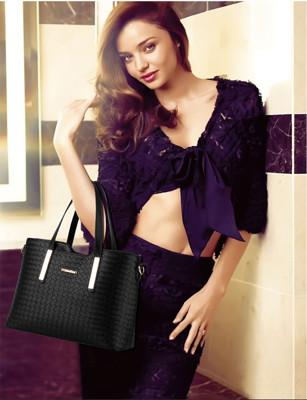 歐美時尚女用包三件組(手提+側背+手拿) (4.3折)