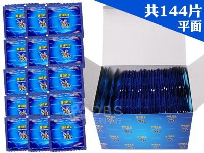 【DDBS】巔峰戰士 平面衛生套 保險套 144片裝 家庭計畫 (6折)